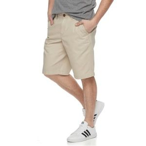 {URBAN PIP-LINE}  Ultimate Twill Flat-Front Shorts